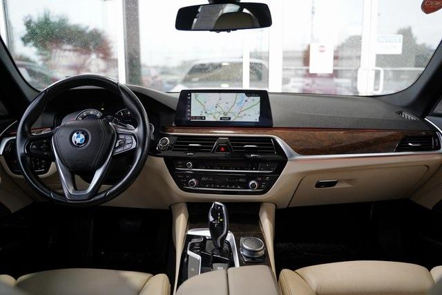 Used 2017 BMW 5 Series 530i for sale $30,496 at Gravity Autos Roswell in Roswell GA 30076 13
