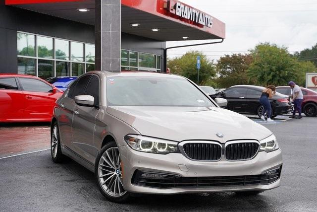 Used 2017 BMW 5 Series 530i for sale $30,496 at Gravity Autos Roswell in Roswell GA 30076 2