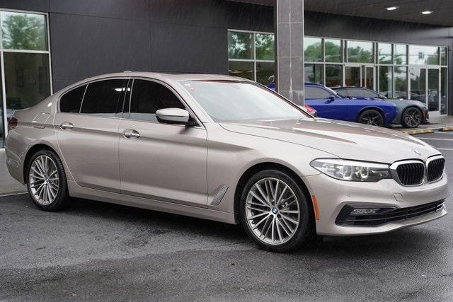 Used 2017 BMW 5 Series 530i for sale $30,496 at Gravity Autos Roswell in Roswell GA 30076 7