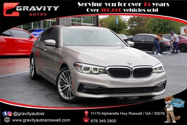 Used 2017 BMW 5 Series 530i for sale $30,496 at Gravity Autos Roswell in Roswell GA 30076 1
