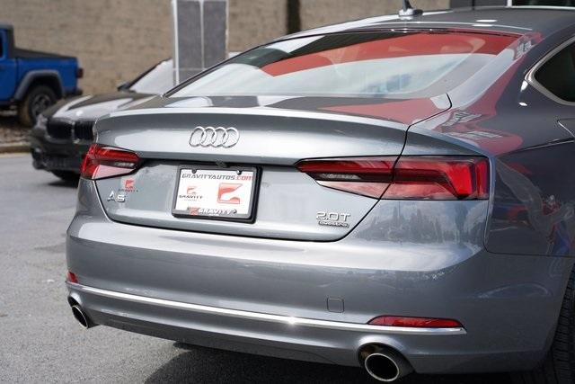 Used 2018 Audi A5 2.0T Premium for sale Sold at Gravity Autos Roswell in Roswell GA 30076 14