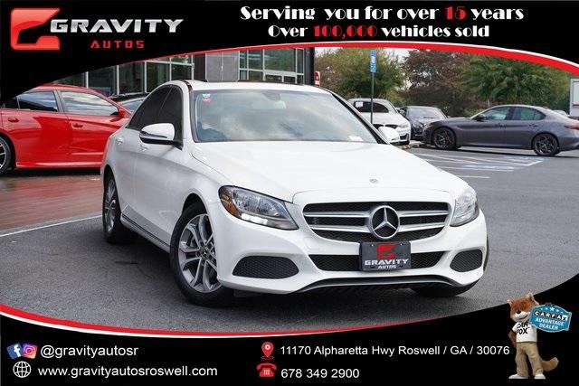 Used 2018 Mercedes-Benz C-Class C 300 for sale $32,496 at Gravity Autos Roswell in Roswell GA 30076 1
