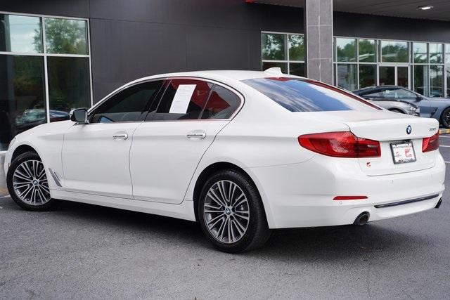 Used 2018 BMW 5 Series 530i for sale $38,496 at Gravity Autos Roswell in Roswell GA 30076 11