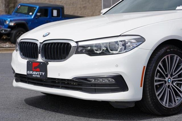 Used 2018 BMW 5 Series 530i for sale $38,496 at Gravity Autos Roswell in Roswell GA 30076 9