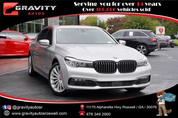 Used 2018 BMW 7 Series 740i for sale $44,996 at Gravity Autos Roswell in Roswell GA