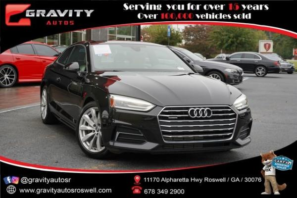 Used 2018 Audi A5 2.0T Premium for sale $34,991 at Gravity Autos Roswell in Roswell GA