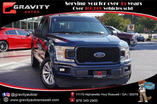 Used 2018 Ford F-150 XL for sale $33,996 at Gravity Autos Roswell in Roswell GA 30076 1