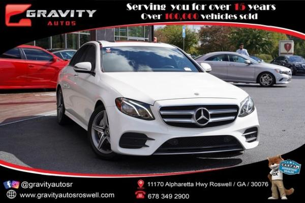 Used 2018 Mercedes-Benz E-Class E 300 for sale $36,992 at Gravity Autos Roswell in Roswell GA