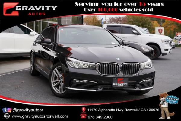 Used 2018 BMW 7 Series 740i xDrive for sale $44,991 at Gravity Autos Roswell in Roswell GA