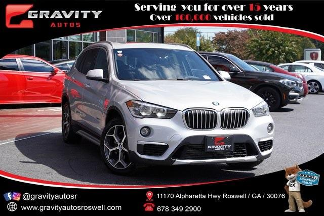 Used 2018 BMW X1 xDrive28i for sale $31,496 at Gravity Autos Roswell in Roswell GA 30076 1