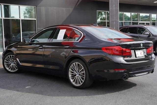 Used 2018 BMW 5 Series 530e iPerformance for sale $37,496 at Gravity Autos Roswell in Roswell GA 30076 11