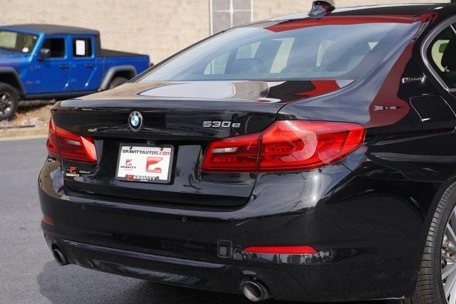 Used 2018 BMW 5 Series 530e iPerformance for sale $37,496 at Gravity Autos Roswell in Roswell GA 30076 14