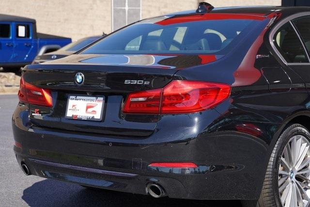 Used 2018 BMW 5 Series 530e iPerformance for sale $36,996 at Gravity Autos Roswell in Roswell GA 30076 14