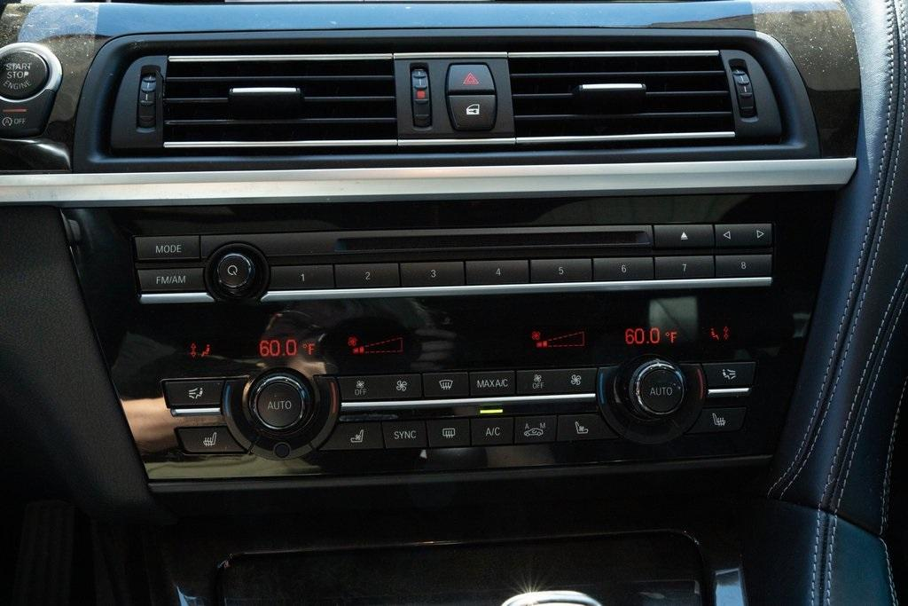 Used 2017 BMW 6 Series 640i xDrive Gran Coupe for sale $39,496 at Gravity Autos Roswell in Roswell GA 30076 16