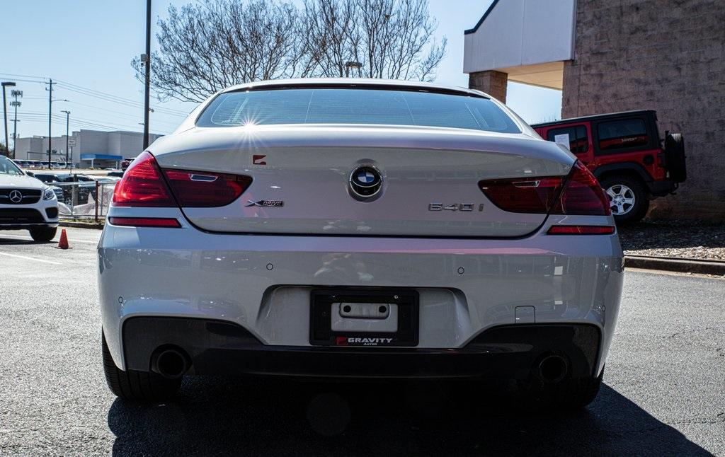 Used 2017 BMW 6 Series 640i xDrive Gran Coupe for sale $39,496 at Gravity Autos Roswell in Roswell GA 30076 6