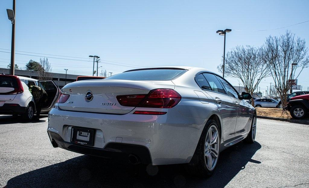 Used 2017 BMW 6 Series 640i xDrive Gran Coupe for sale $39,496 at Gravity Autos Roswell in Roswell GA 30076 8