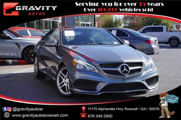 Used 2017 Mercedes-Benz E-Class E 400 for sale $37,992 at Gravity Autos Roswell in Roswell GA