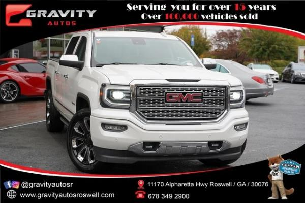 Used 2017 GMC Sierra 1500 Denali for sale $46,992 at Gravity Autos Roswell in Roswell GA