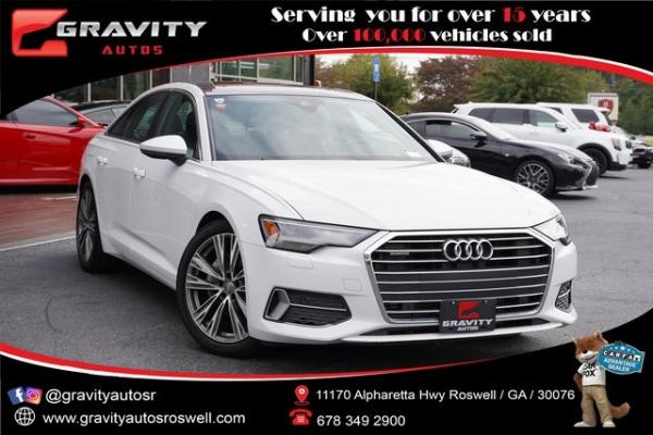 Used 2020 Audi A6 2.0T Premium for sale $47,996 at Gravity Autos Roswell in Roswell GA