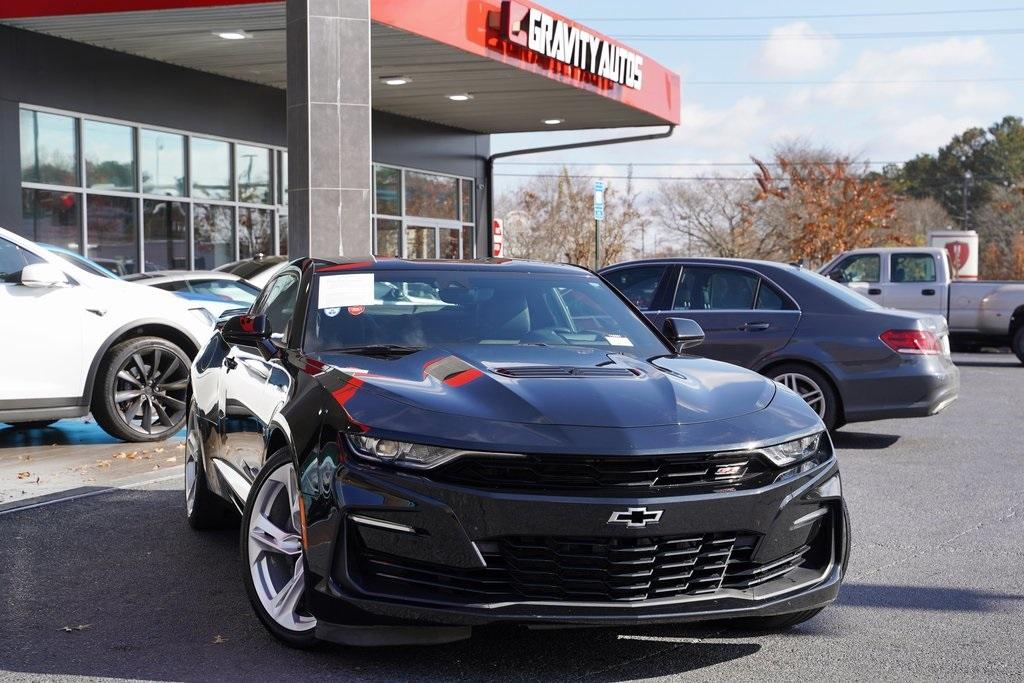 Used 2019 Chevrolet Camaro SS for sale $42,991 at Gravity Autos Roswell in Roswell GA 30076 1