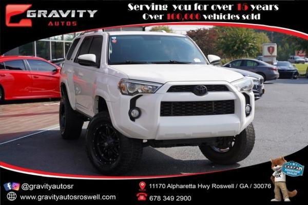 Used 2016 Toyota 4Runner SR5 for sale $32,992 at Gravity Autos Roswell in Roswell GA