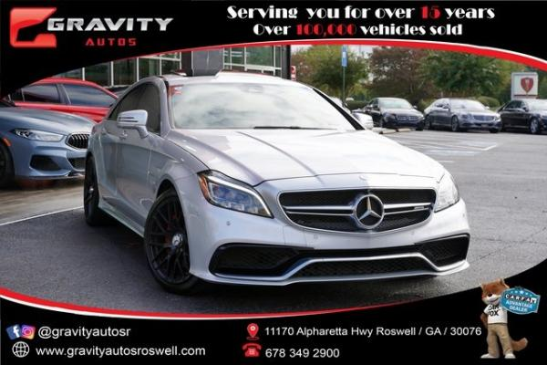 Used 2016 Mercedes-Benz CLS CLS 63 S AMG for sale $60,996 at Gravity Autos Roswell in Roswell GA