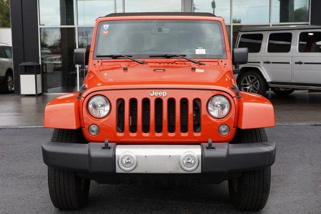 Used 2015 Jeep Wrangler Unlimited Sahara for sale $31,992 at Gravity Autos Roswell in Roswell GA 30076 6