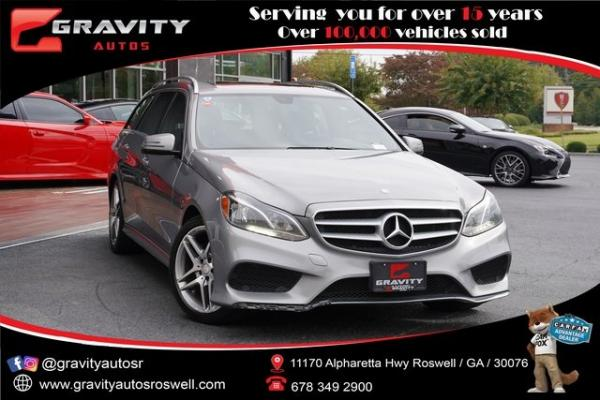 Used 2014 Mercedes-Benz E-Class E 350 for sale $25,992 at Gravity Autos Roswell in Roswell GA