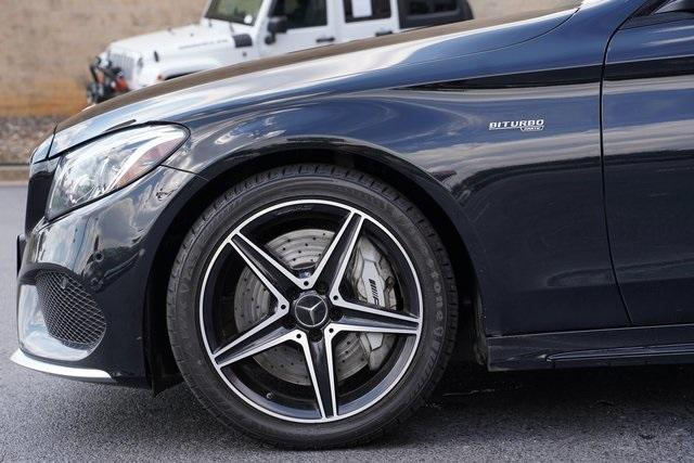 Used 2017 Mercedes-Benz C-Class C 43 AMG for sale $40,991 at Gravity Autos Roswell in Roswell GA 30076 10