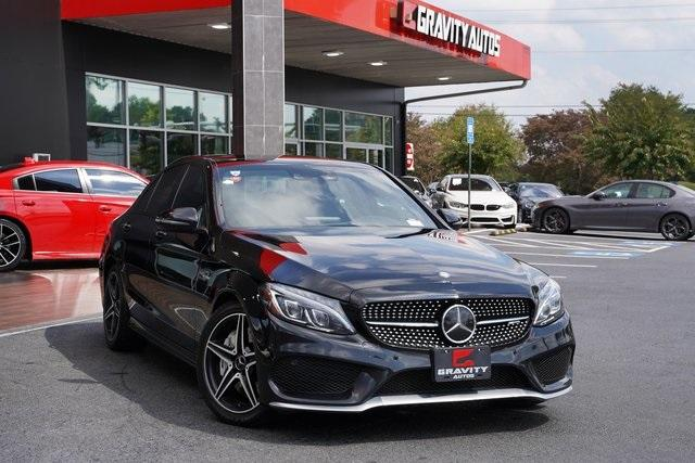 Used 2017 Mercedes-Benz C-Class C 43 AMG for sale $40,991 at Gravity Autos Roswell in Roswell GA 30076 2
