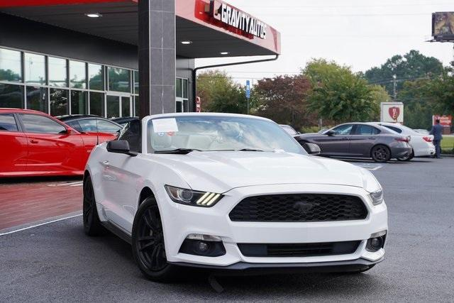 Used 2017 Ford Mustang EcoBoost Premium for sale Sold at Gravity Autos Roswell in Roswell GA 30076 2