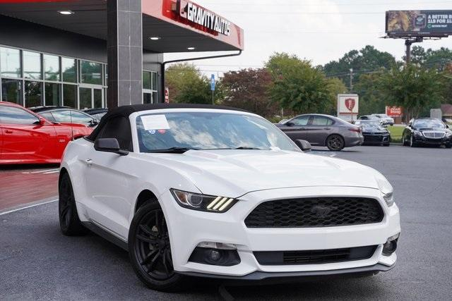 Used 2017 Ford Mustang EcoBoost Premium for sale Sold at Gravity Autos Roswell in Roswell GA 30076 3