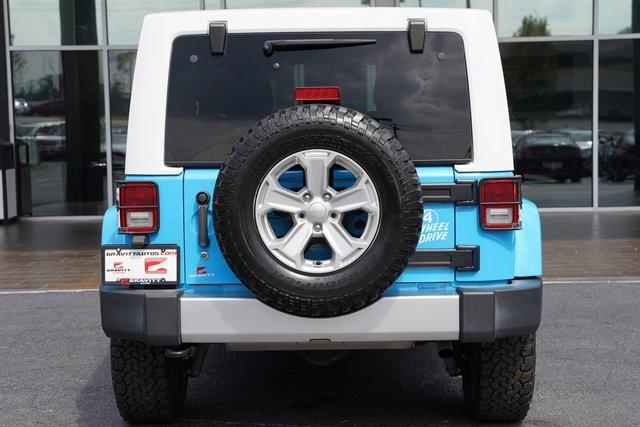 Used 2017 Jeep Wrangler Unlimited Sahara for sale $39,992 at Gravity Autos Roswell in Roswell GA 30076 13