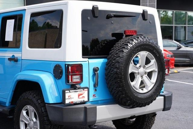 Used 2017 Jeep Wrangler Unlimited Sahara for sale $39,992 at Gravity Autos Roswell in Roswell GA 30076 15