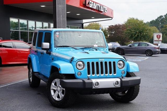 Used 2017 Jeep Wrangler Unlimited Sahara for sale $39,992 at Gravity Autos Roswell in Roswell GA 30076 2