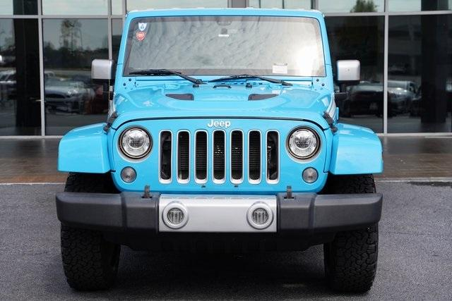 Used 2017 Jeep Wrangler Unlimited Sahara for sale $39,992 at Gravity Autos Roswell in Roswell GA 30076 6