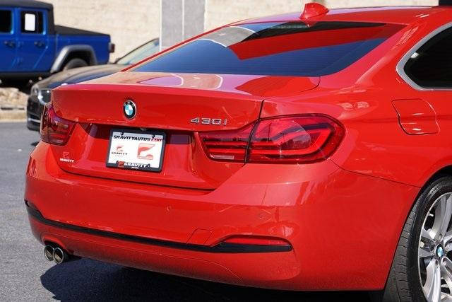Used 2019 BMW 4 Series 430i for sale $36,496 at Gravity Autos Roswell in Roswell GA 30076 14