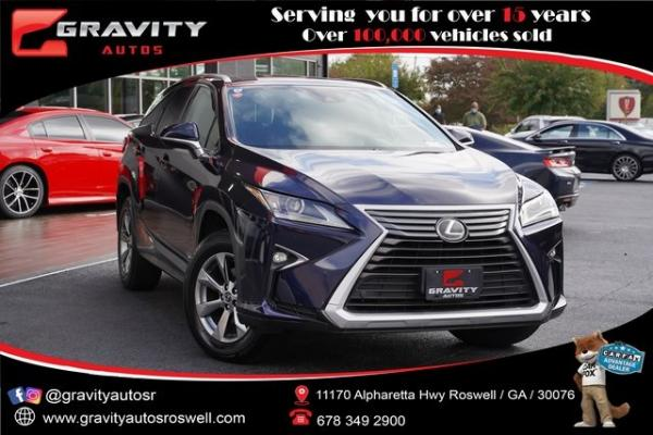 Used 2018 Lexus RX 350L for sale $44,992 at Gravity Autos Roswell in Roswell GA
