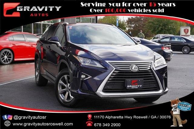 Used 2018 Lexus RX 350L for sale $44,992 at Gravity Autos Roswell in Roswell GA 30076 1