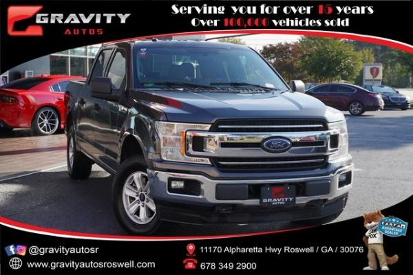 Used 2018 Ford F-150 XLT for sale $37,992 at Gravity Autos Roswell in Roswell GA