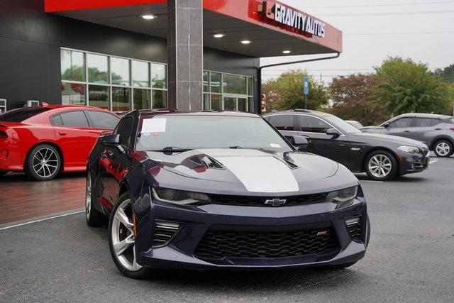 Used 2016 Chevrolet Camaro SS for sale $38,992 at Gravity Autos Roswell in Roswell GA 30076 2