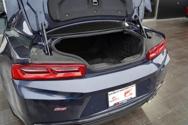 Used 2016 Chevrolet Camaro SS for sale $38,992 at Gravity Autos Roswell in Roswell GA 30076 35
