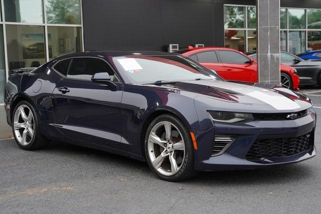 Used 2016 Chevrolet Camaro SS for sale $38,992 at Gravity Autos Roswell in Roswell GA 30076 7