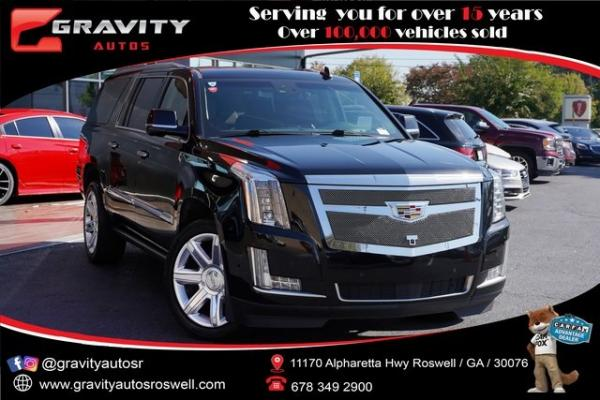 Used 2017 Cadillac Escalade ESV Premium for sale $58,992 at Gravity Autos Roswell in Roswell GA