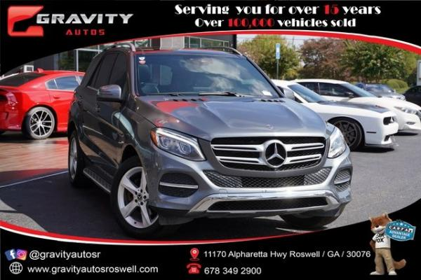 Used 2018 Mercedes-Benz GLE GLE 350 for sale $38,992 at Gravity Autos Roswell in Roswell GA