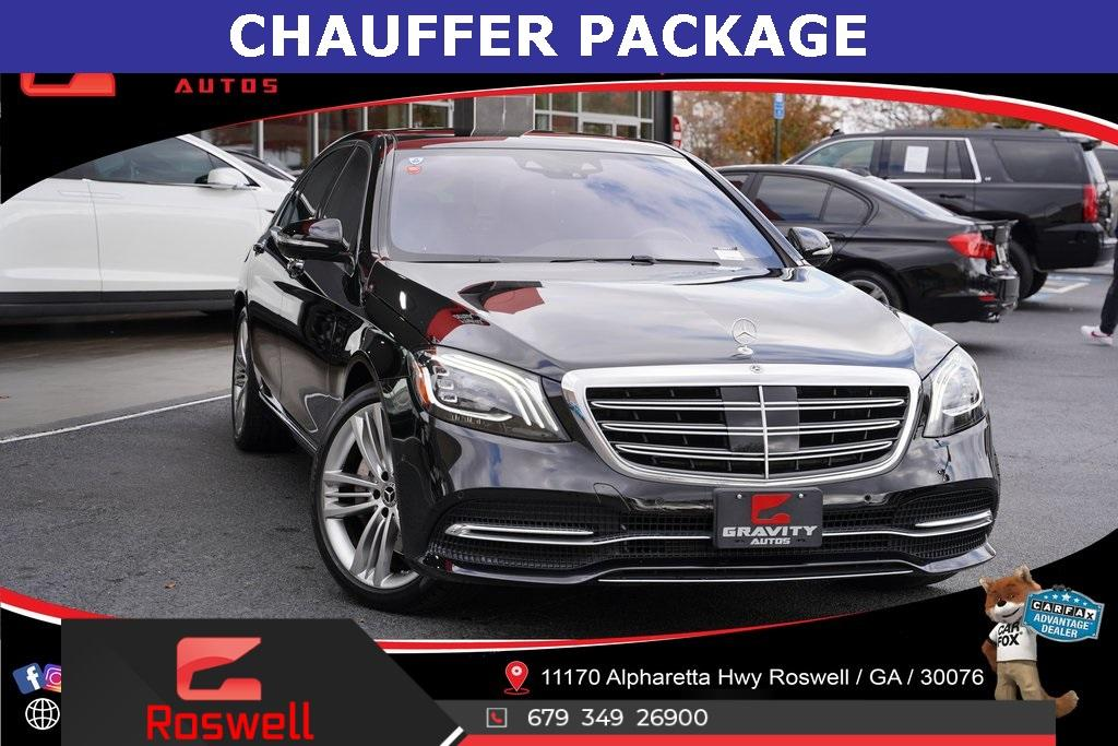 Used 2018 Mercedes-Benz S-Class S 560 for sale $74,992 at Gravity Autos Roswell in Roswell GA 30076 1