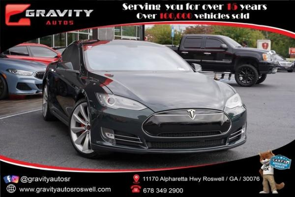 Used 2012 Tesla Model S Performance for sale $40,996 at Gravity Autos Roswell in Roswell GA