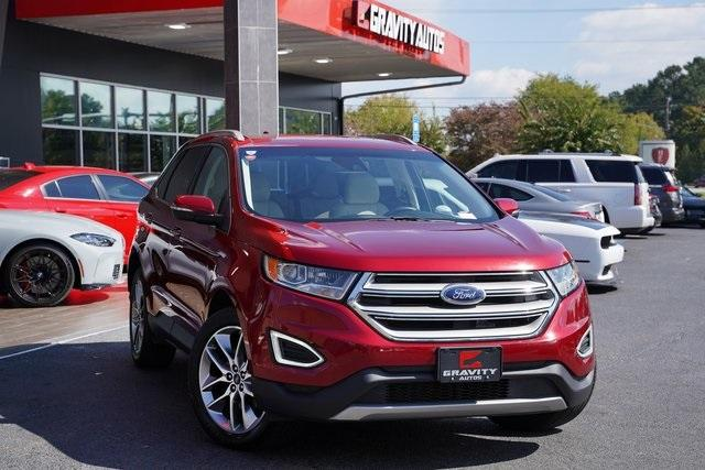 Used 2018 Ford Edge Titanium for sale $29,992 at Gravity Autos Roswell in Roswell GA 30076 2