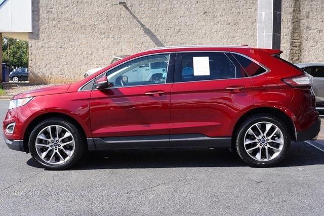 Used 2018 Ford Edge Titanium for sale $29,992 at Gravity Autos Roswell in Roswell GA 30076 4