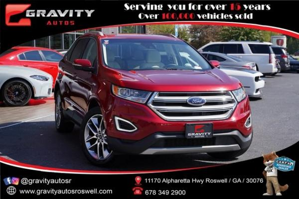 Used 2018 Ford Edge Titanium for sale $29,992 at Gravity Autos Roswell in Roswell GA